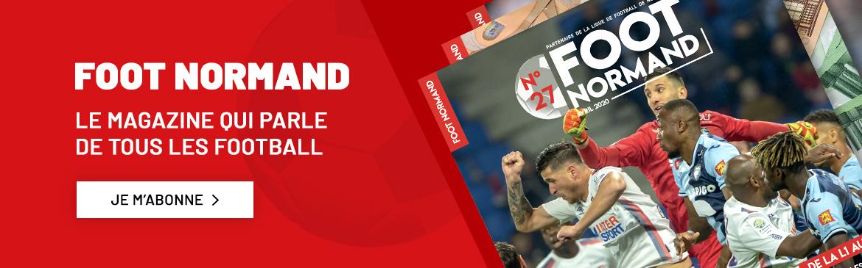 Le nouveau numéro du magazine Foot Normand est sorti dans les kiosques !